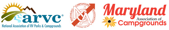 National Association of RV Parks & Campgrounds / Northeast Campground Association / Maryland Association of Campgrounds