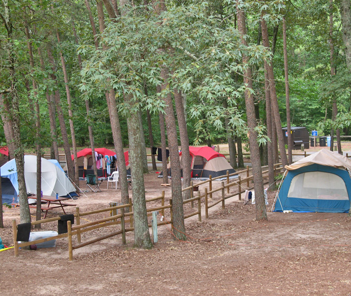 Group Tent Area